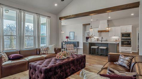 Prescott Living Room, Kitchen & Dining