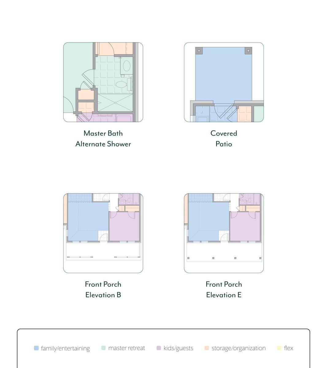 Astaire Floor Plan Options