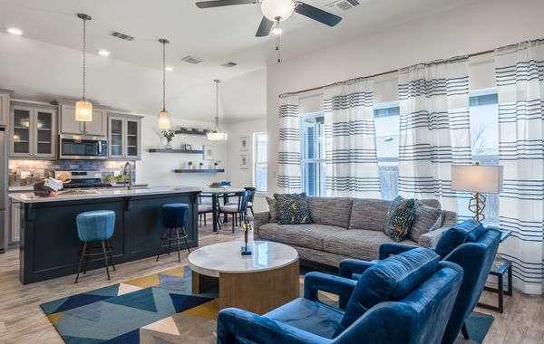 Chadwick Living Room, Kitchen and Breakfast Area