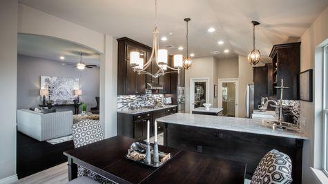 Oakland Kitchen, Dining & Living Room