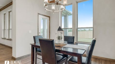Bradford dining area - new home in Edmond or Norman