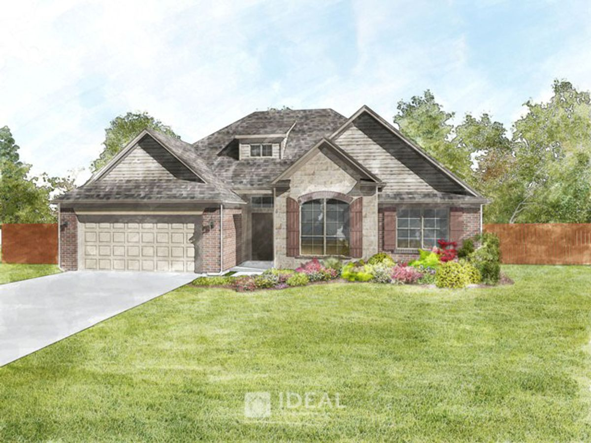 Langley Traditional - Elevation E