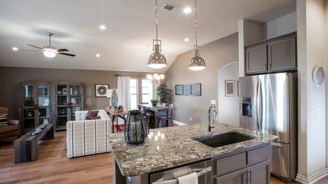 Frederickson Kitchen, Living Room & Breakfast Area