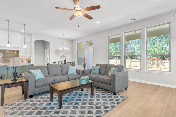 Marietta Living Room, Kitchen & Dining