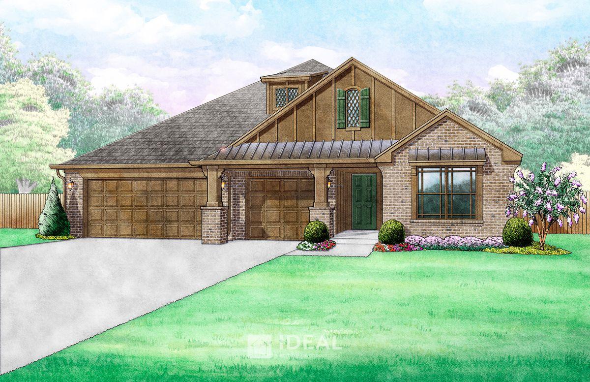 Kincaid Farmhouse - Elevation E