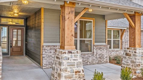 Kendall Mountain Cottage - Elevation A