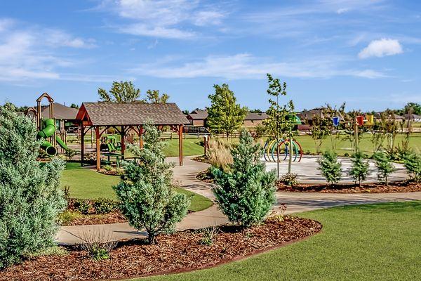 Castlewood Trails Playground & Splashpad
