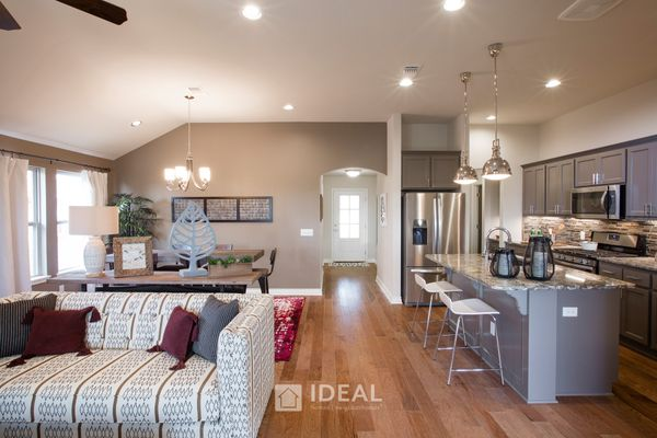 Frederickson Kitchen and Living Room