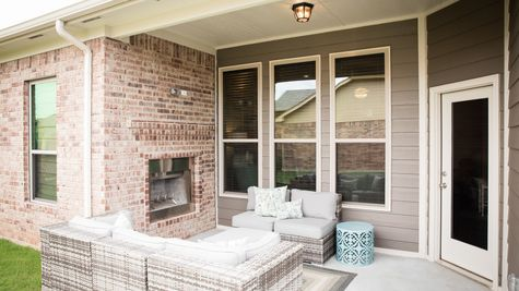 Kendall Patio with Fireplace