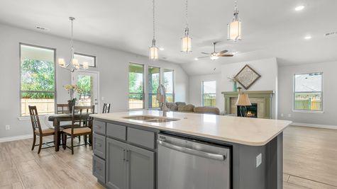 Marietta Kitchen, Dining & Living Room