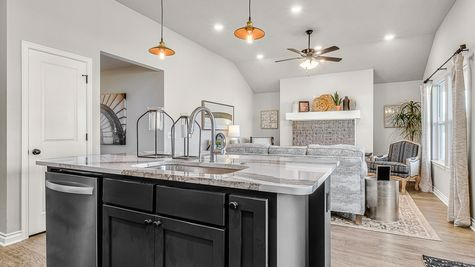 Dawson Kitchen & Living Room
