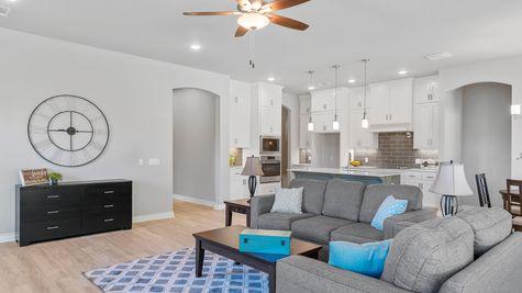 Marietta Living Room & Kitchen