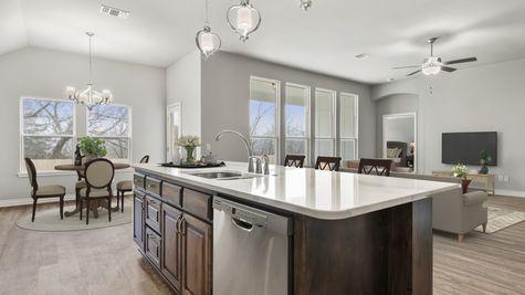 Langley 3-Car Kitchen, Dining & Living Room