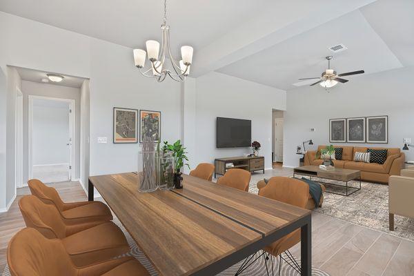 Gabriella Breakfast Area/Living Room