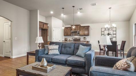 Ivory Living Room, Kitchen & Breakfast Area