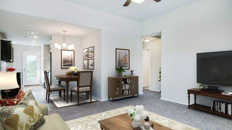 Astaire Living Area & Breakfast Area