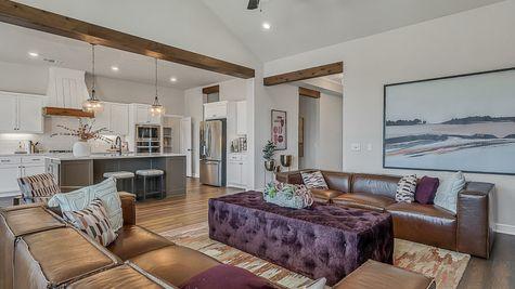 Prescott Living Room & Kitchen