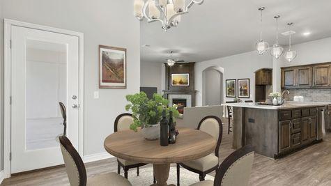 Langley 3-Car Dining, Kitchen & Living Room