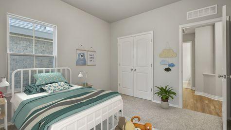 Langley 3-Car Kids Bedroom/Guest Bedroom
