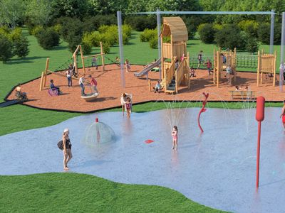 Splashpad and Playground for Accessiblity