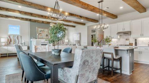 Nottingham Kitchen, Dining & Living Room