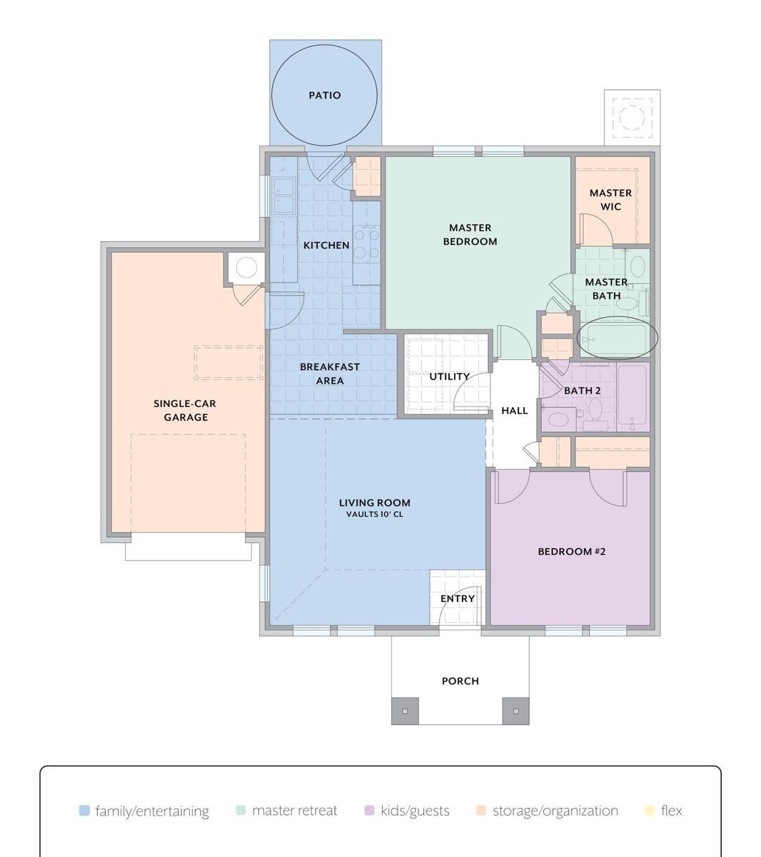 Astaire Floor Plan