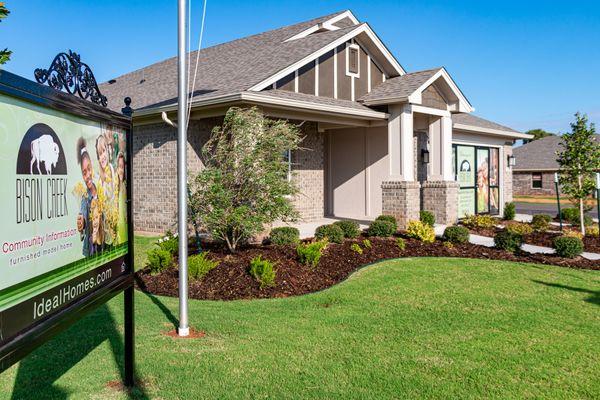 Bison Creek Model Home