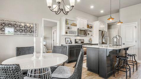 Dawson Breakfast Area, Kitchen & Master Bedroom