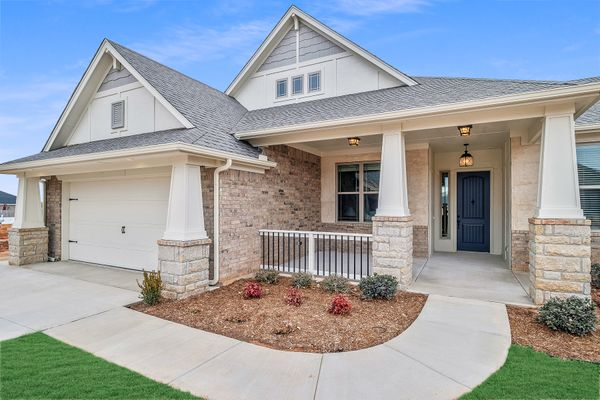 Cambridge Elevation B new home in Edmond or Norman
