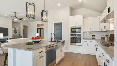 Montgomery Kitchen & Living Room