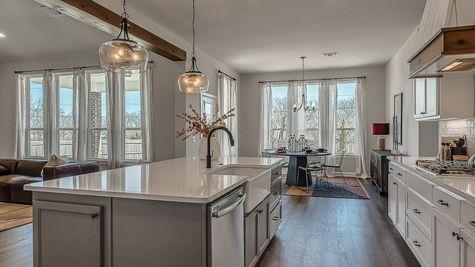Prescott Kitchen, Dining & Living Room