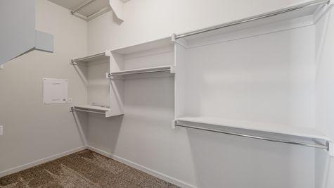 Montgomery Master Walk-In Closet