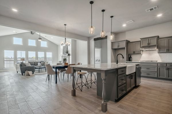 Overly Kitchen, Dining & Living Room