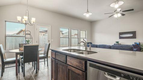Ivory Kitchen, Breakfast Area & Living Room