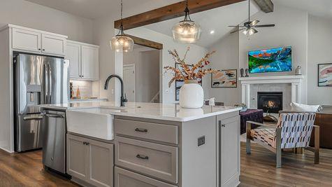 Prescott Kitchen & Living Room