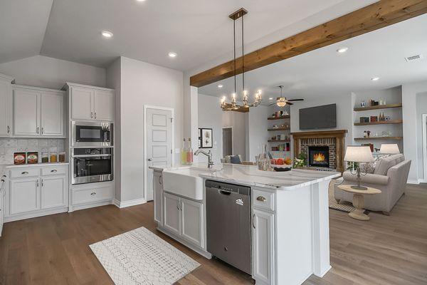 Pendleton Kitchen & Living Room