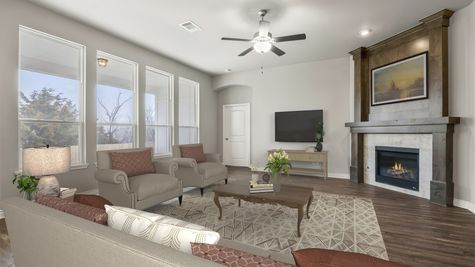 Langley 3-Car Living Room