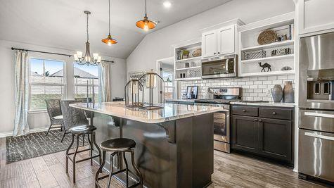 Dawson Kitchen & Breakfast Area