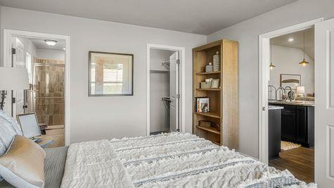 Dawson Master Bedroom, Bath & Closet and Kitchen