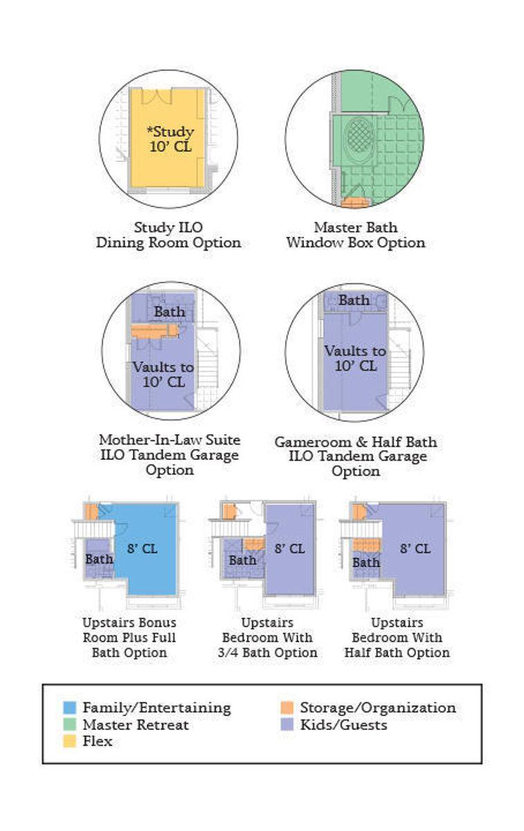 Bradford Floor Plan Options