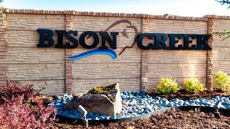 Bison Creek Entrance