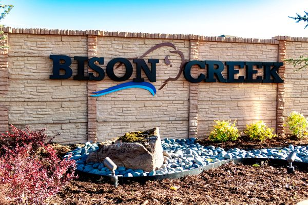 Bison Creek Entrance