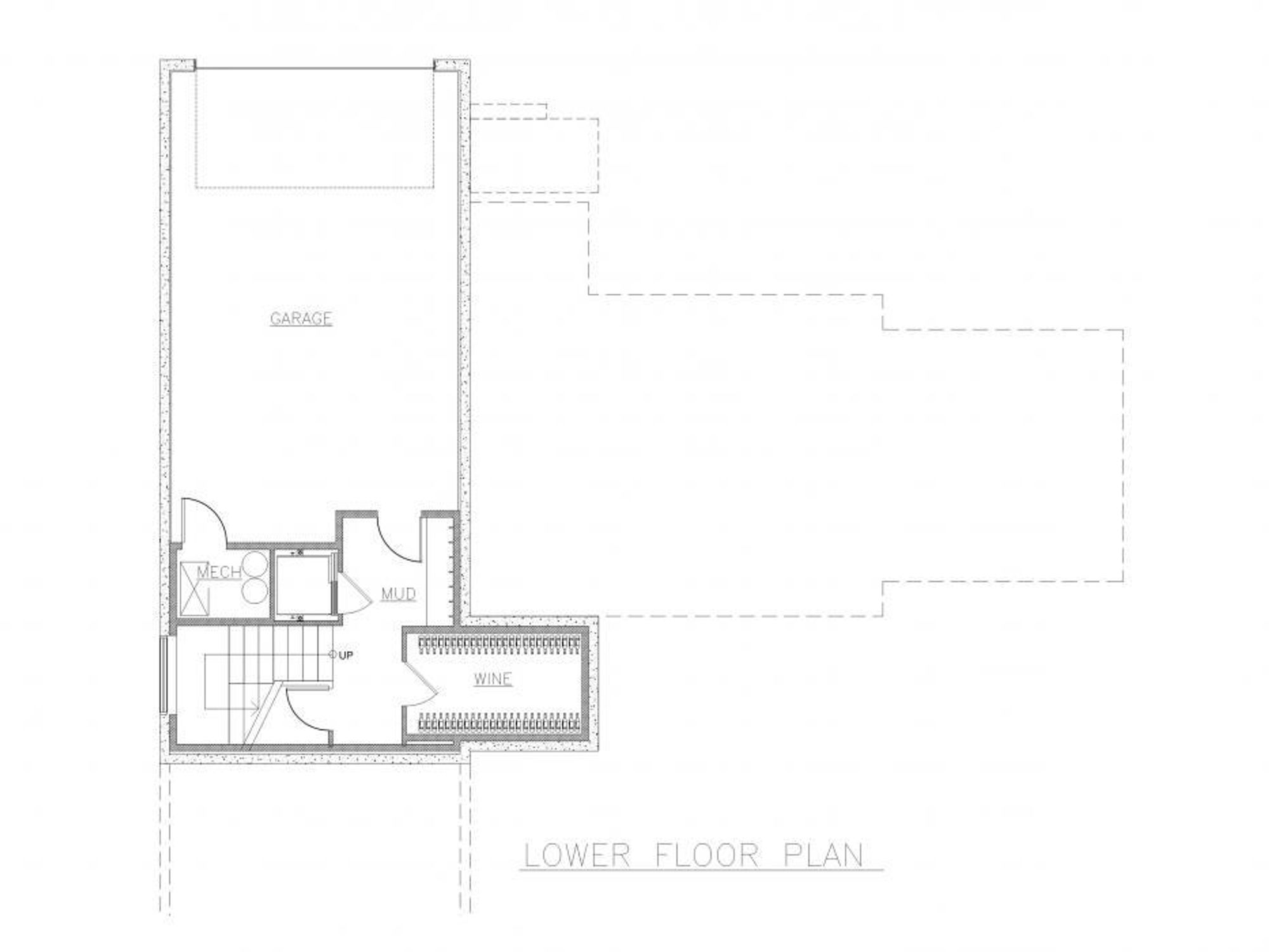 Stockholm Lower Floor Plan