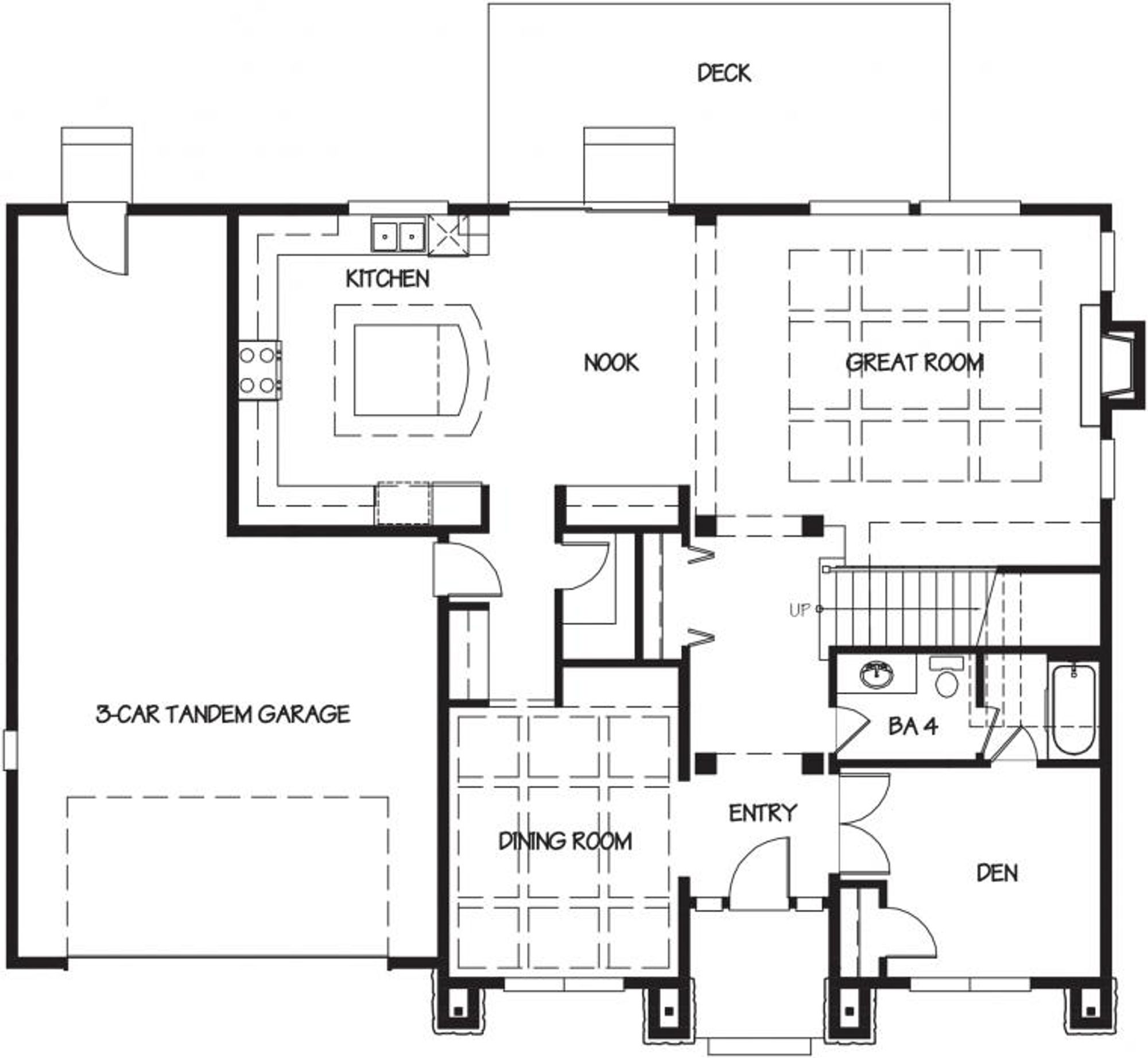 Venice Main Floor Plan