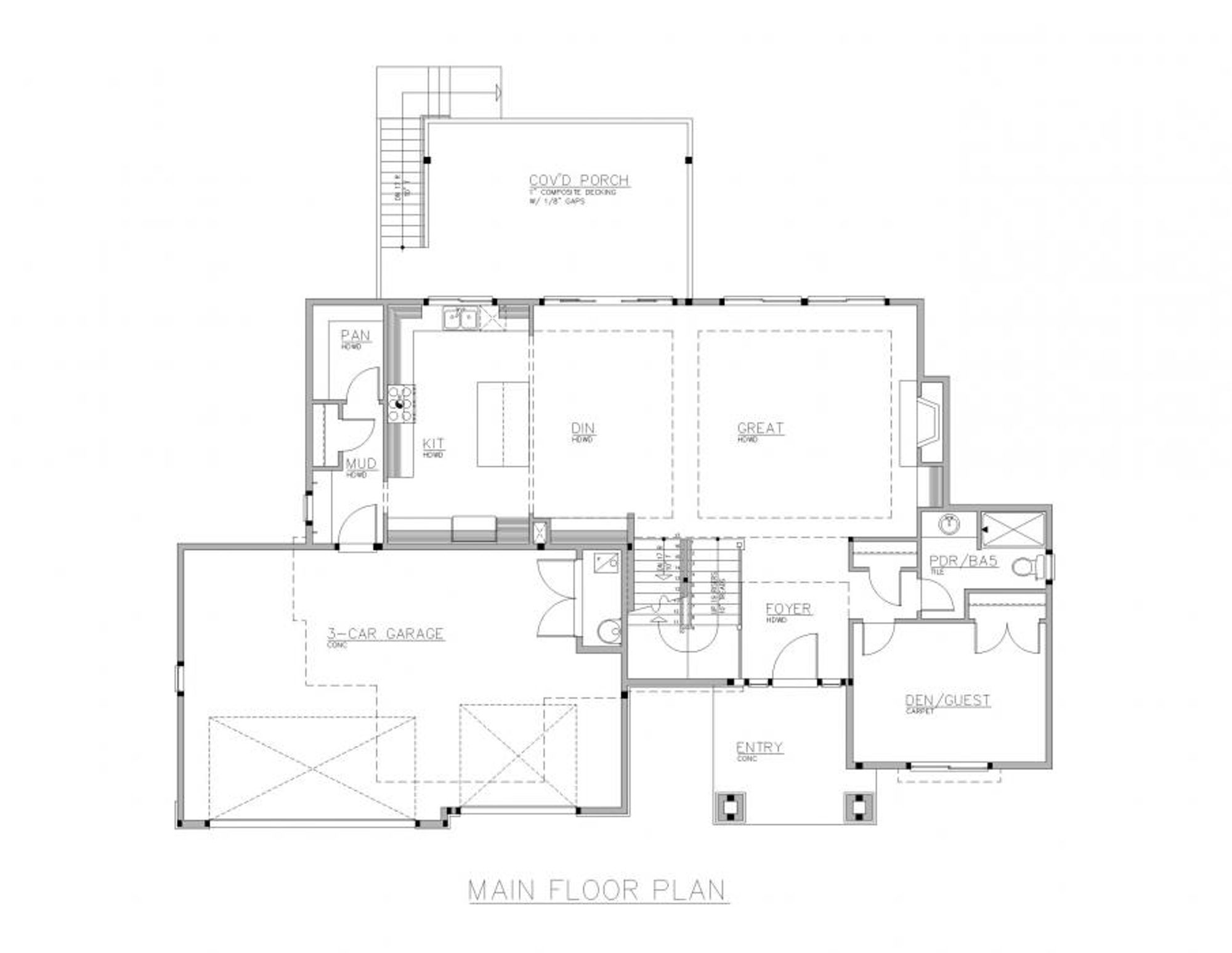 Lisbon Main Floor Plan