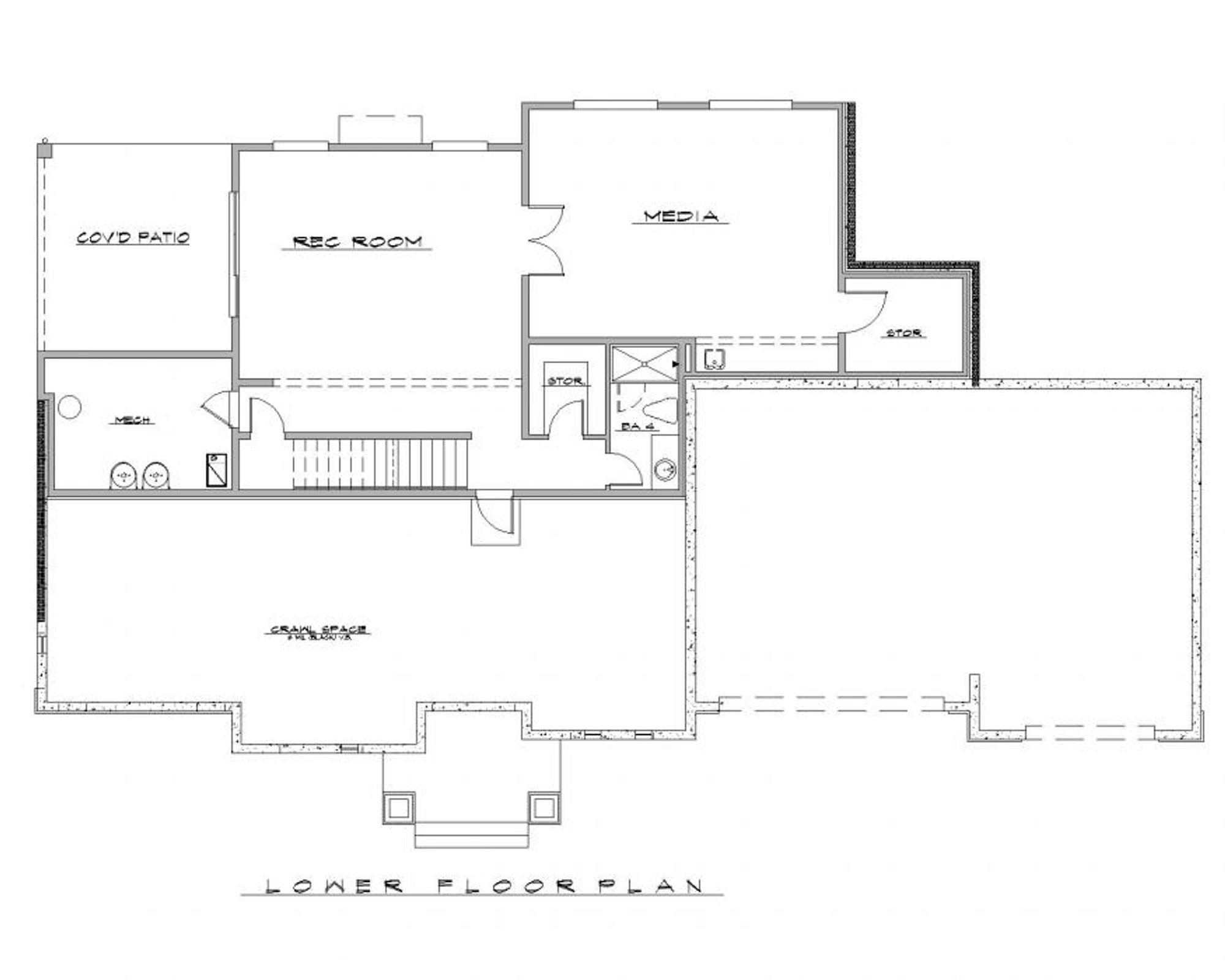 Calabria C Lower Floor Plan