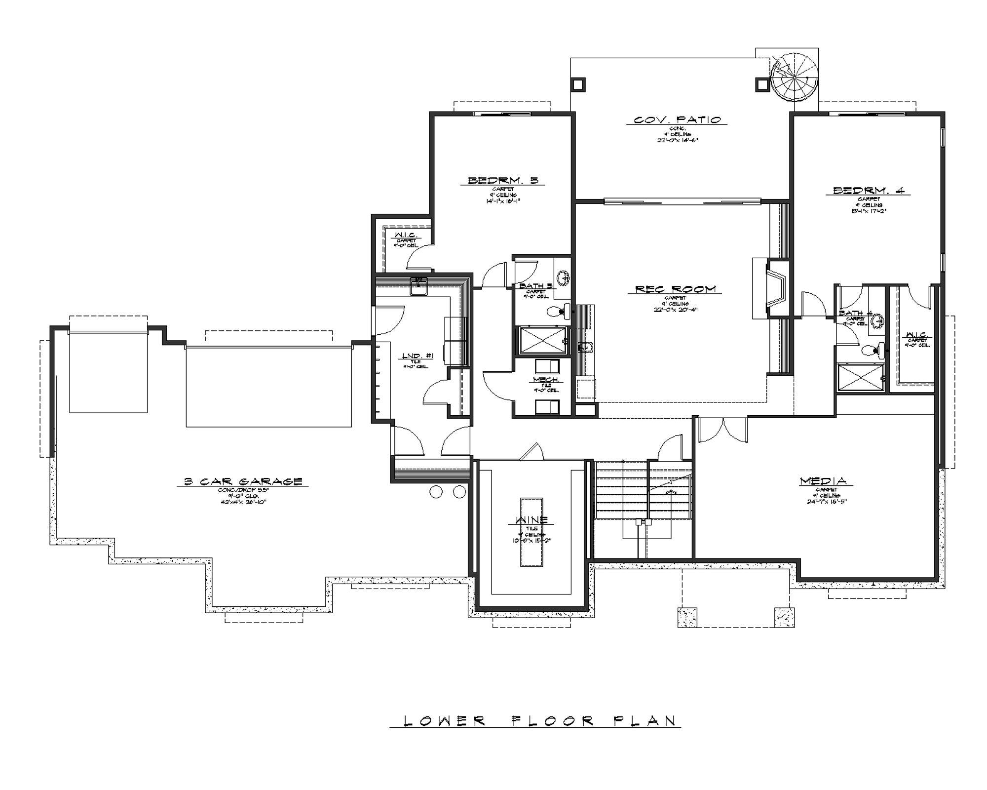 Agra Lower Floorplan