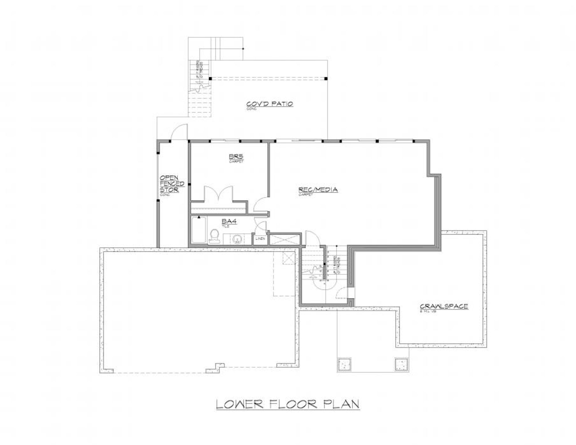 Lisbon Lower Floor Plan