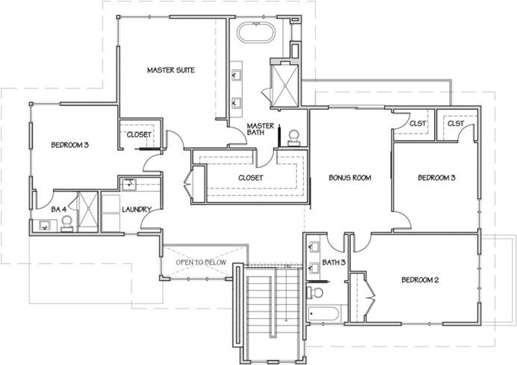 Singapore Upper Floor Plan