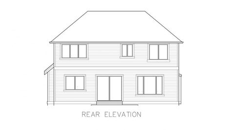 Whistler 2-Car Rear Elevation